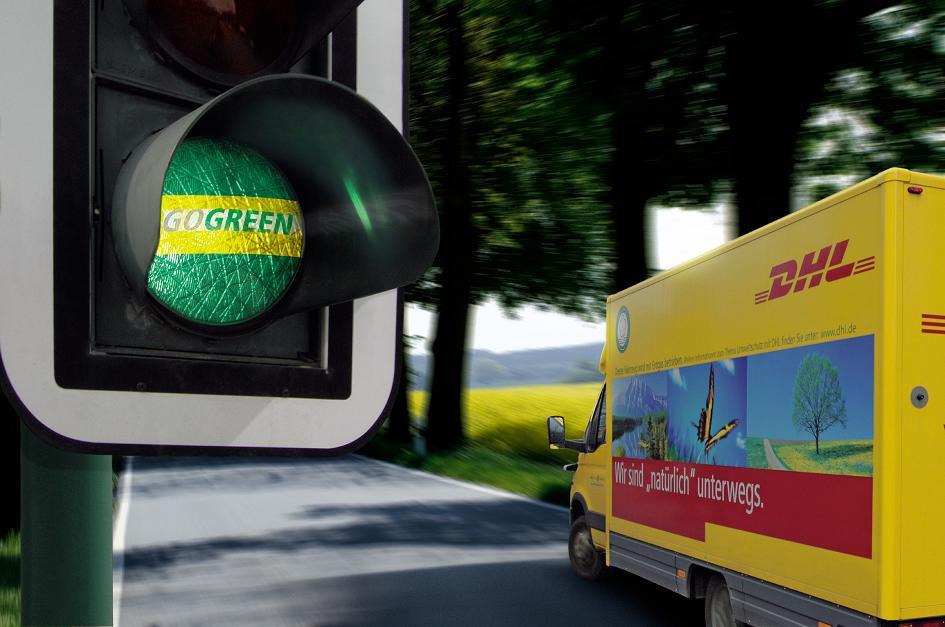 DHL GoGreen für unsere Umwelt