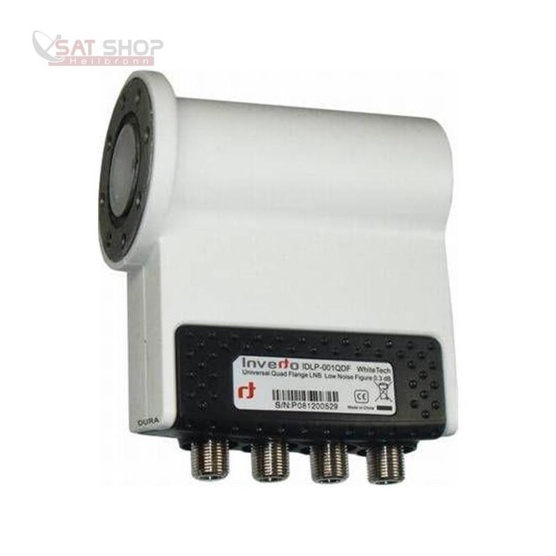 Flansch Quad LNB Inverto IDLP-001QDF Universal