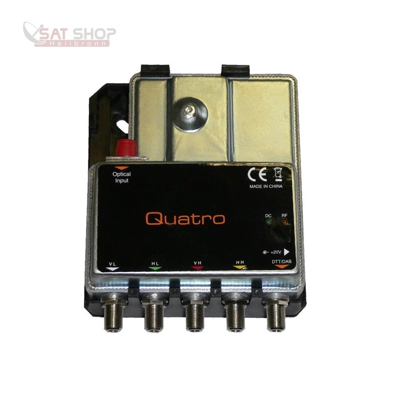 MKII QUATTRO (optisches Fibre LNB Umsetzer - Virtual Abschlusseinheit)