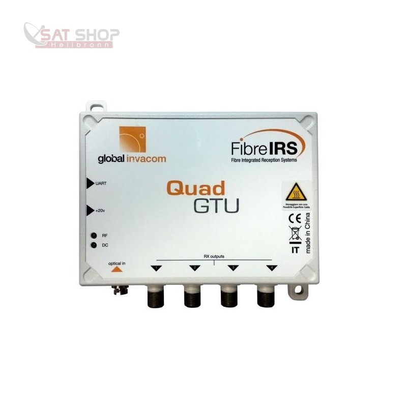 MKIII QUAD (optisches Fibre LNB Umsetzer - Virtual Abschlusseinheit)