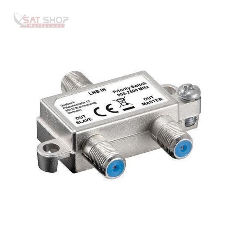 SAT- Prioritätsschalter / -Vorrangschalter (2 Receiver an ein Kabel ...
