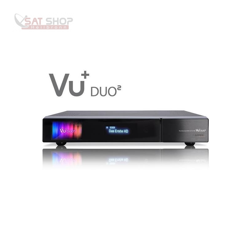 Duo2 Linux HDTV Triple Kabelreceiver 1x DVB-C/T2 Dual-Tuner + 1x DVB-C/T2 Single-Tuner (PVR-ready)