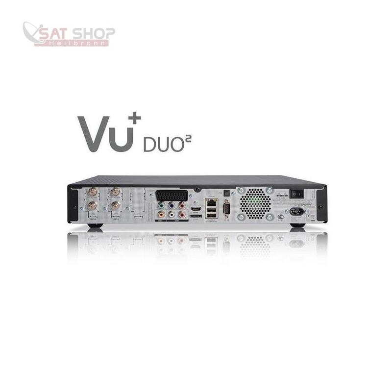 VU+ Duo2 Linux HDTV Receiver mit Wechseltuner DVB-S2 / DVB-C / DVB ...