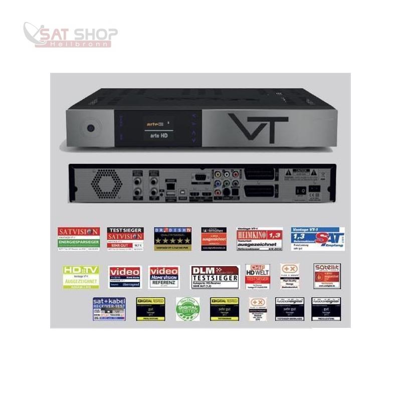 VT-1s HDTV Twin- Satreceiver PVR-ready