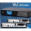 VU+ Uno 4K SE UHDTV Linux E² Receiver (DVB-S2 Twin + DVB-C FBC-Tuner / PVR-ready / Display / USB 3.0 / GigaBit)