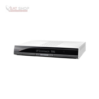 Kathrein UFSconnect 906 DVB-S2 Smart-TV HDTV Receiver silber