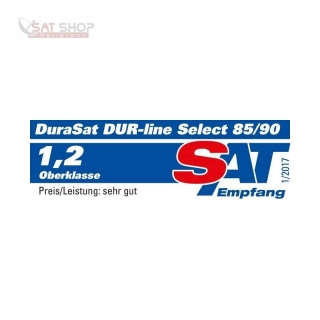 Satanlage für 1 Teilnehmer (Dur-Line 85/90 Select Antenne + Inverto Black Premium Single LNB)