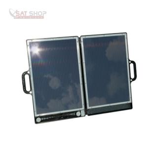 solarpanel ladeger t 12v 13w faltbar im transportkoffer. Black Bedroom Furniture Sets. Home Design Ideas