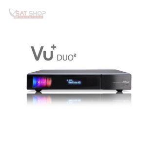 VU+ Duo2 Linux HDTV Twin-Kabelreceiver 2x DVB-C/T2 Single-Tuner 500GB Festplatte
