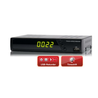 Triax-Hirschmann S-HD 10 Plus DVB-S2 HDTV Satreceiver (Unicable-/JESS-tauglich)