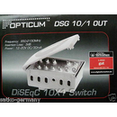 OPTICUM DSG 10/1 OUT DiSEqC-Schalter 10in1