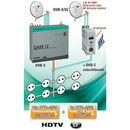 Kopfstation POLYTRON QAM 12 EM + SPM 200 LAN (2x Pay-TV...