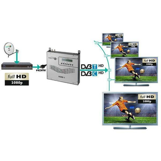 POLYTRON HDM-1 T HDMI-Modulator in DVB-T/IP-Stream