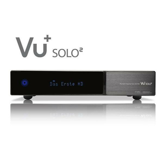 VU+ Solo2 Twin Linux HDTV Satreceiver (PVR ready)