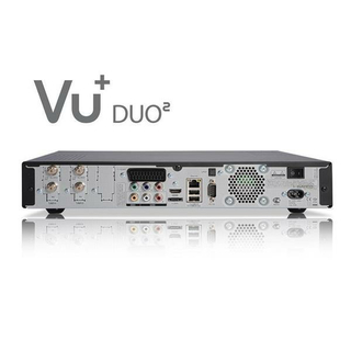 VU+ Duo2 Twin Linux HDTV Satreceiver 2x DVB-S2 Single-Tuner 1000GB Festplatte
