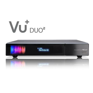 VU+ Duo2 Linux HDTV Twin-Kabelreceiver 1x DVB-C/T2 Dual-Tuner 2000GB Festplatte