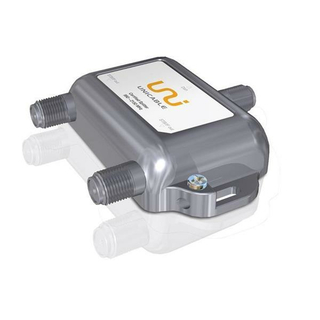 Unicable 2-fach Verteiler/Splitter Inverto IDLP-USP1O2-OUO2O-OOP mit Diodenentkopplung (speziell für Unicable-/JESS-Systeme)
