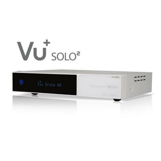 VU+ Solo2 WE (weiß) Twin Linux HDTV Satreceiver (PVR-ready)
