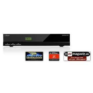 Smart CX06 Mirage HDTV-Receiver mit erweiterter IP-Stream Funktion (SAT>IP Sender, small2BIG Empfänger, USB, LAN, Smart Stream)