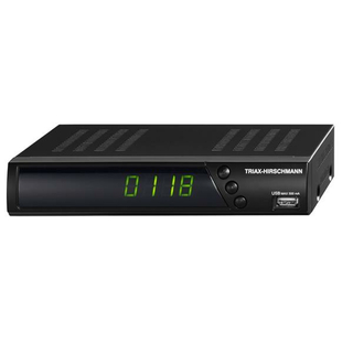 Triax-Hirschmann S-HD 10 Plus mit USB-PVR ready (Unicable-/JESS-tauglich)