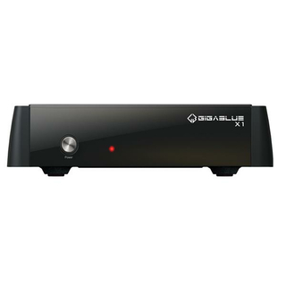 GigaBlue HD X1 Linux Full HD Satreceiver DVB-S2