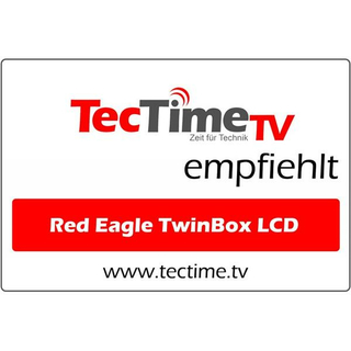 Red Eagle TwinBox LCD Full HD Linux E2 Receiver (1x DVB-S/S2 Tuner)