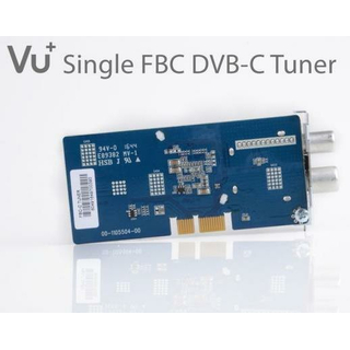 VU+ DVB-C FBC Kabel-Tuner für Uno 4K / Uno 4K SE / Ultimo 4K / Duo 4K (Full-Band-Capture - 8 Demulatoren)