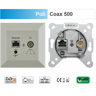 Digital Devices PoLiCoax 500 - PowerLine Coax für DVB-C (Erweiterung 1 Dose)