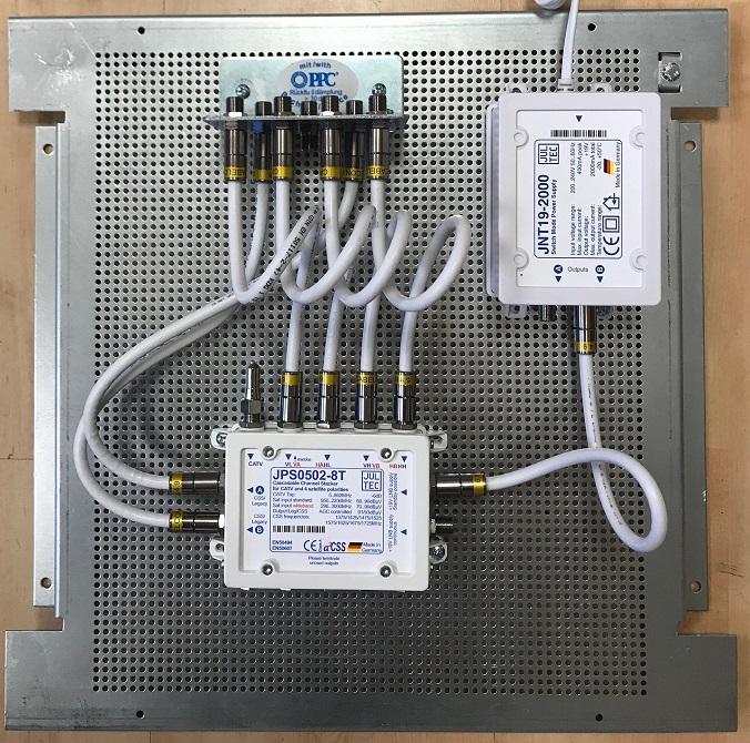 Jultec JPS0502-8T Unicable Multischalter